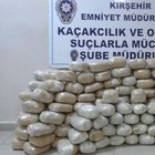 205 kilo esrarla yakalanan polis tutuklandı