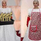 Lady Gaga'nın Oscar eldivenleri alay konusu oldu
