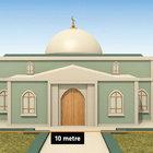 Eşme Köyü'ndeki yeni karakol ve türbe 15 dönüm arazi üzerine inşa edilecek