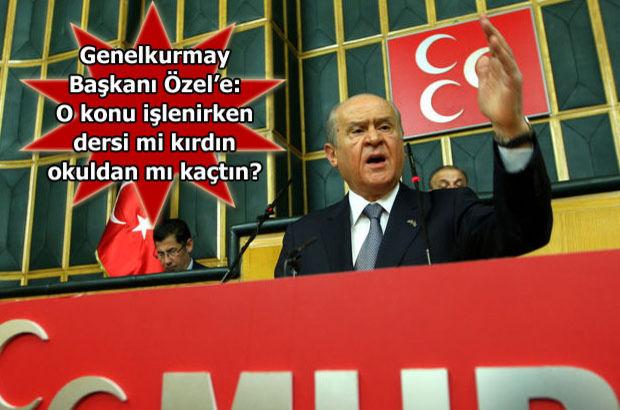 MHP Genel Başkanı Devlet Bahçeli:Bunu yapanlara yazıklar olsun hakkımız varsa da haram olsun