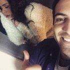 Özge ile Buğra'dan selfie şov