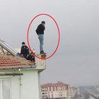 5. kattan atladı hava yastığı kurtardı