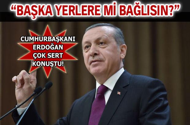 Cumhurbaşkanı Erdoğan Merkez Bankası'na sert çıktı!