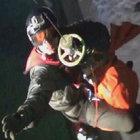 Komşu'nun denizinde mahsur kalanları kurtarma operasyonu