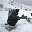 Malatya'da 4 subayın şehit olduğu uçak kazasından geriye enkazlar kaldı
