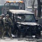 Afganistan Kabil'de Türk Büyükelçiliği konvoyuna bombalı saldırıda 1 astsubay şehit, 1 astsubay yaralı