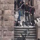 Ankara Üniversitesi Dil ve Tarih- Coğrafya Fakültesi'nde öğrenciler arasında kavga çıktı