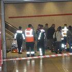 İzmir Metrosu'nda merdiven kazası