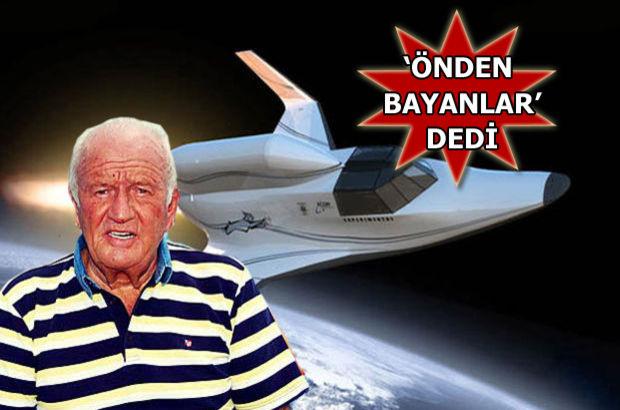 Uzay yolculuğu, Fenerbahçe eski başkanı Ali Şen,Timur Özkan