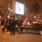 Kutlamalar nedeniyle Beşiktaş'ta trafik kilitlendi