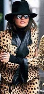 Eda Taşpınar, Kate Moss'u taklit etti