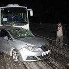 Sakarya'da ters yöne giren araç kazaya yol açtı: 4 yaralı