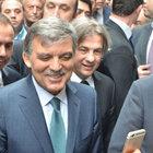 Beyoğlu'nda, Abdullah Gül izdihamı