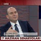 Ak Parti Genel Başkan Yardımcısı Süleyman Soylu, üç dönem kuralının esnetilmesiyle ilgili konuştu