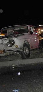 Kamyonet ile otomobilin çarpışması sonucu bir kişi hayatını kaybetti