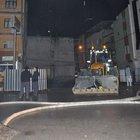 İzmir'de çökme tehlikesiyle 2 bina boşaltıldı