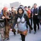 Afganistan'da sokak tacizine zırhlı önlem