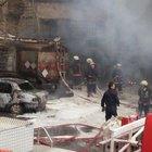 İkitelli Organize Sanayi Sitesi'nde kimyasal madde yüklü tankerde patlama!