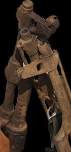 Somalili korsanların pas tutmuş silahları