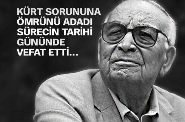 Ya�ar Kemal vefat etti