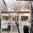 Üsküdar'da evin çatısında yangın