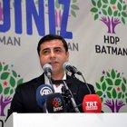 HDP Eş Genel Başkanı Selahattin Demirtaş'tan, Batman'da çözüm süreci açıklaması