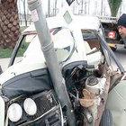 Bostancı'daki Sahil Yolu Süreyya Plajı trafik ışıklarında kaza