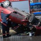 Kadıköy'de 16 yaşındaki çocuk kaza yaptı