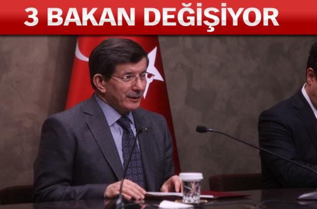 Başbakan Davutoğlu, yeni isimleri açıkladı