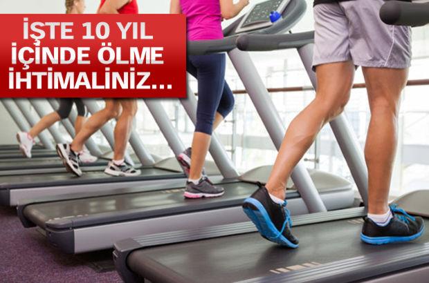 Koşu bandında 3 dakikalık performansla ölçün!