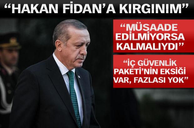 Cumhurbaşkanı Erdoğan Riyad dönüşü konuştu