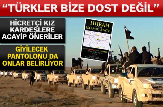 IŞİD'den aday teröristlere 'Hicret' el kitabı!