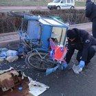 Simit satmaya giderken otomobilin çarpması sonucu öldü