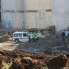 Adana adliye binası inşaatında üzerine beton blok düşen işçi öldü