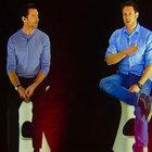 Hugh Jackman, Madrid'de hologram ile basın toplantısı düzenledi