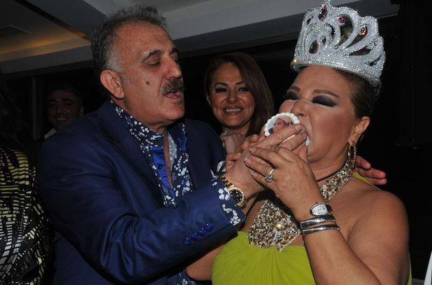Faik Öztürk, Safiye Soyman'a elleriyle pasta yedirdi, Safiye Soyman, doğum gününü kutladı