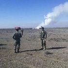 Konya'da F4 uçağı düştü: 2 şehit