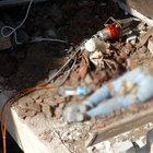 Didim'de belediye işçileri yıkılan duvarın altında kaldı:1 ölü, 5 yaralı