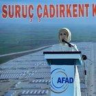 Emine Erdoğan Şanlıurfa'nın Suruç ilçesindeki çadırkente gerçekleştirdiği ziyarette konuştu