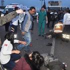 Manisa'daki kaza: 2 ölü, 2 ağır yaralı