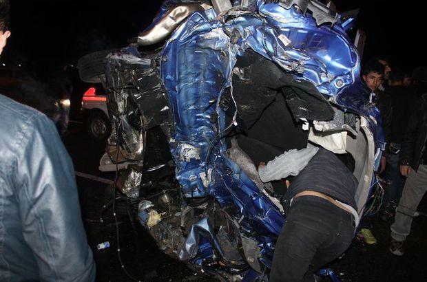 Araç takla attı: 1 ölü, 3 yaralı!
