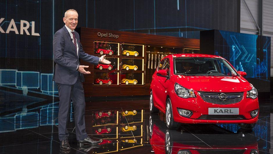 Opel'in öz evladı Karl, Cenevre'de vücut buldu
