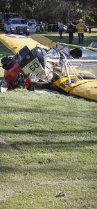 Ünlü aktör Harrison Ford'un uçağı düştü