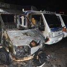 Gaziantep'te park halindeki 4 araç yandı