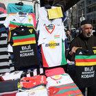 Diyarbakır'da yeni trend Kobani tişörtleri