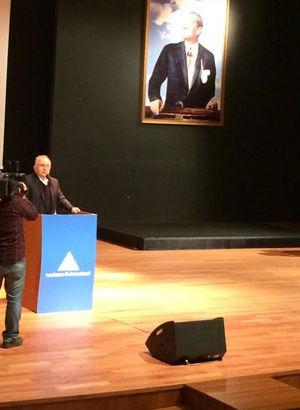Bedrettin Dalan Yeditepe Üniversitesi'nde konuştu