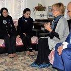 Filiz Akın Özgecan Aslan'ın ailesini ziyaret etti