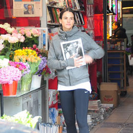 Sponza'nın çiçek alışverişi