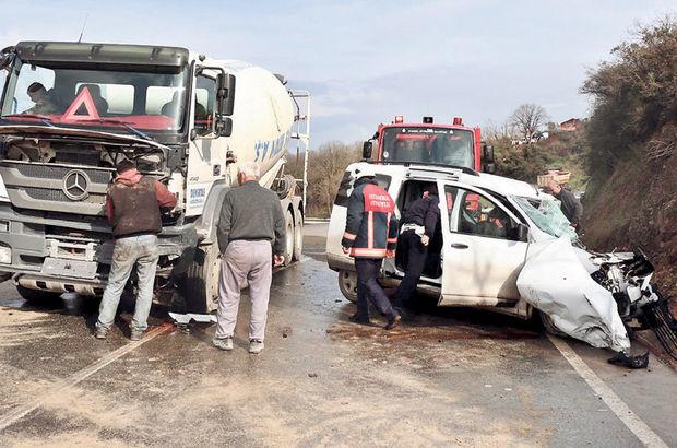 Beykoz'da 'mazot' tuzağı kazası
