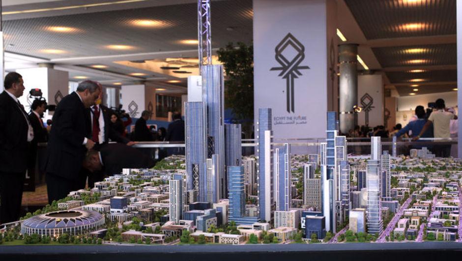 İşte Mısır'ın 45 milyar dolarlık yeni başkenti!